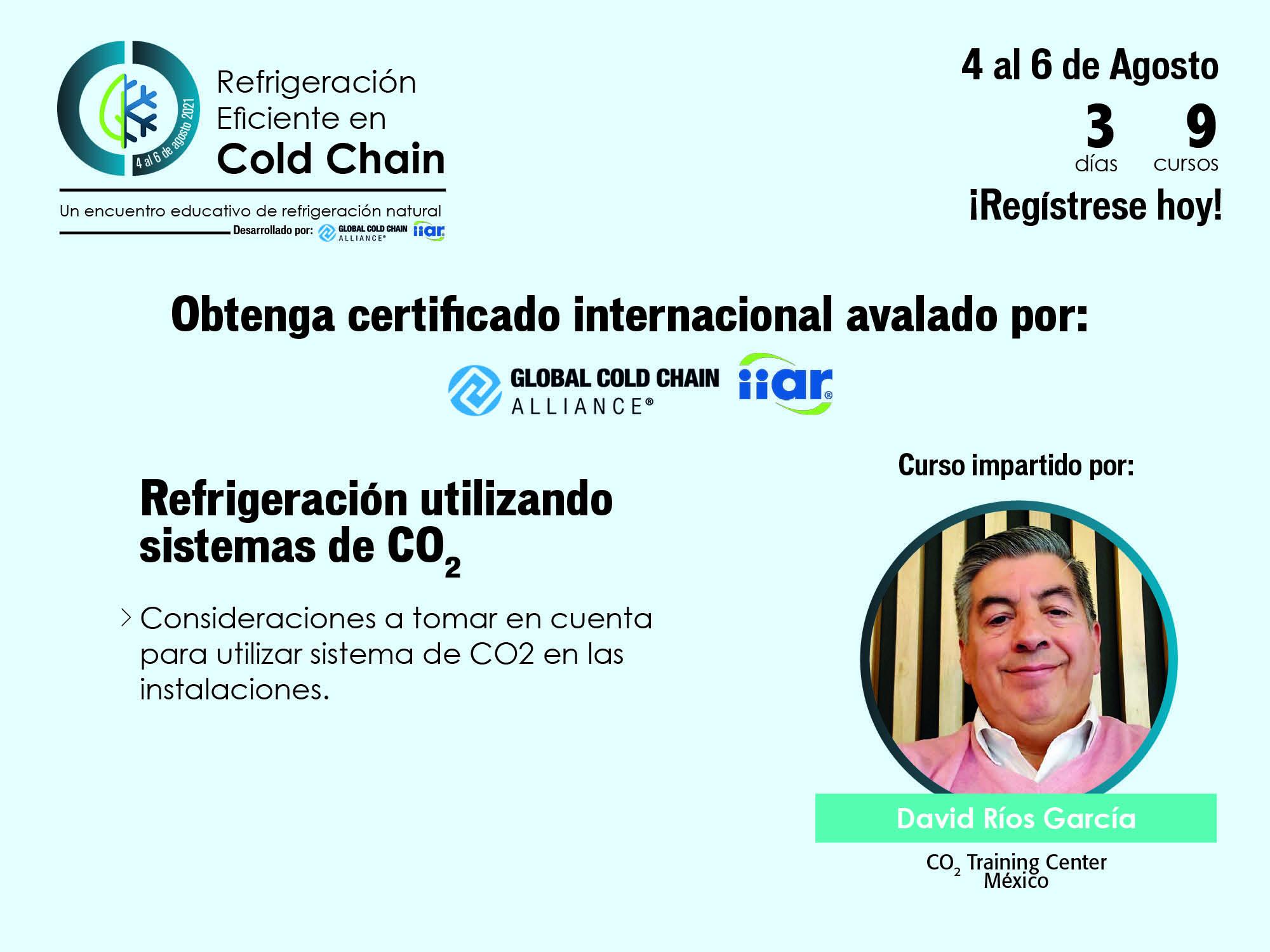Programa de estudios Refrigeración Eficiente en Cadena